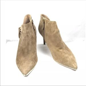 DKNY Ankle Boots PELIA Taupe Size 6.5